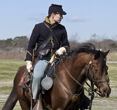 Fort Monroe Civil War encampment Virginia Hampton US cavalry union horses (watts_photos) Tags: fort monroe civil war encampment virginia hampton us cavalry union horses civilwar soldier soldiers military reenact troops