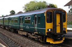 150232 (52232) British Railways Class 150 Sprinter, Great Western Railway, Filton Abbey Wood, Bristol (Kev Slade Too) Tags: 150232 52232 class150 sprinter greatwesternrailway dmu 2e20 filtonabbeywood bristol gloucestershire