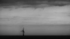 In Sync (John fae Fife) Tags: wind ferry xe2 landscape bw minimal nb minimalist sea newcastleijmiuden noiretblanc monochrome windturbines blackandwhite seascape sky fujifilmx