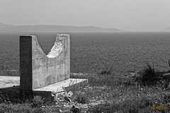 Old rock crusher for cement factory (dimitrismaggioris) Tags: nikonians nikond7100 greece magnesia bw oldfactory volos