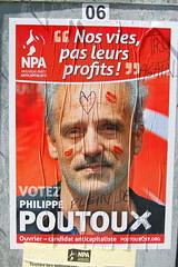 Poutoux (pierre-alain dorange) Tags: élections présidentielles 2017 affiches affiche