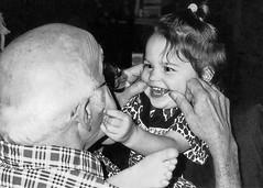 Make me smile (Whispers Innovations) Tags: love poppa grandfather smile happiness children laughter memories babies grandpa makemesmile grandchildren grandparents joy granddaughter family people funny forever