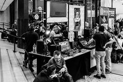 DSCF9192 (Seb v. Preussen) Tags: superbooth sooperbooth 2017 superbooth2017 berlin fez wuhlheide synthesizer schneidersladen modular doepfer blackandwhite blackwhite monochrome messe fujifilm fuji xe2 fujifilmxe2 xf27mm xf27mmmf28 27mmf28