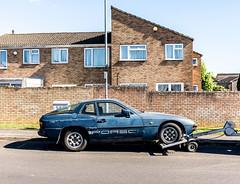 Porsche 924 (pixelhut) Tags: bristol uk england southwest city urban bs5 easton suburbs suburb suburban suburbia housing igerslovebs5 igersbristol porsche porsche924 ontow car automotive auto oldcar