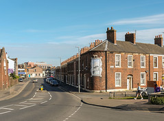 Buildings of Carlisle: corner of St Nicholas Street and Woodrouffe Terrace (Allan Rostron) Tags: carlisle cumbria terracedhouses streets