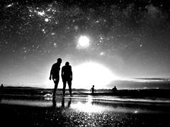 Space the last frontier (Michael.Sutton) Tags: beach silhouette sunrise australia nsw cronulla 365project iphoneography