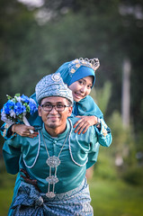 Firdaus & Atika (rudy zain) Tags: wedding portrait people outdoor portraiture malaysia malay nikond7000 rudyzain