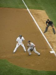 Kevin Youkilis, New York Yankees, Mike Napoli, Boston Red Sox (MattBritt00) Tags: nyc newyorkcity ny newyork rivalry sports boston al baseball stadium bronx sox redsox borough yankees yankeestadium ballpark yanks mlb umpire americanleague bronxbombers majorleaguebaseball kevinyoukilis mikenapoli