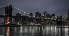New-York, Brooklyn Bridge. (Jrme Cousin) Tags: new york city bridge usa newyork apple brooklyn america big nikon manhattan united pont states nikkor 18105 d5000