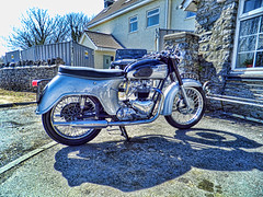 235 - DSCF1080-topaz (BikeOut Online) Tags: thunderbird 6t