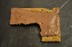 another poorly eaten poptart gun (flickrnumi) Tags: school breakfast milk education hype violence guns nra schoolshooting schoollunch lasercut nannystate joshuawelch robinficker countyschoolboard poptartgun
