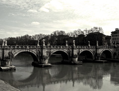 369 (cristianachivarria) Tags: bridge rome roma river tiber
