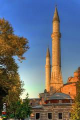 Minaret (Lock Stock and Travel) Tags: architecture turkey nikon minaret islam religion istanbul islamicarchitecture ayasofya sultanahmetsquare d700 davidnaylor