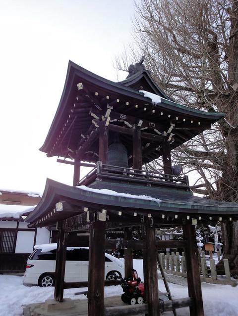 鐘楼門です。|飛騨国分寺