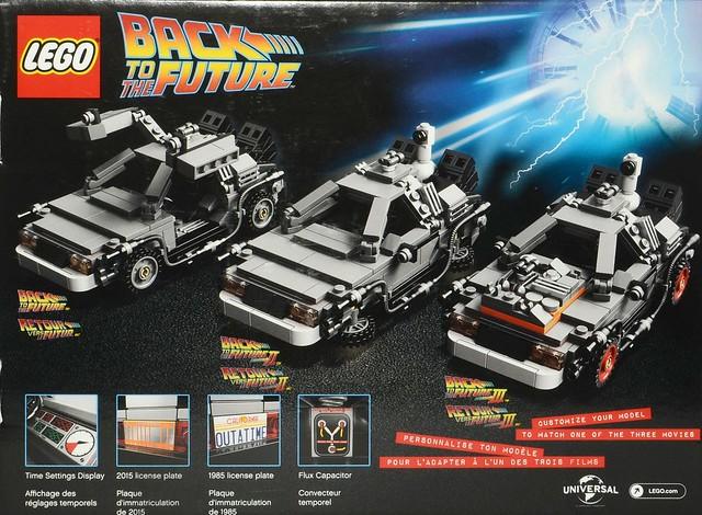LEGO 21103 回到未來:時光車 brickset.com 搶先看!