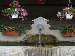 Spécialité locale : la fontaine