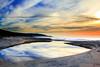 Lagoon (**James Lee**) Tags: ocean sky lake seascape clouds sunrise dawn australia lagoon nsw macquarie catherinehillbay 100commentgroup flickrstruereflection2