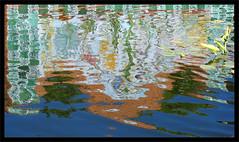 """Reflejo en el estanque (""""GALBA"""") Tags: agua reflejo estanque abstracto malaga abstraccion estanquedelospatos jardinesdeluisalonso"""
