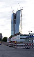 Neue EZB, Frankfurt am Main 2013 (Spiegelneuronen) Tags: architektur ostend frankfurtammain neubau europischezentralbank lindleystrase