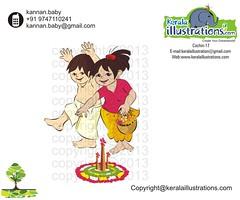 6 (kannanalpy) Tags: festival illustration king illustrations kerala vector onam puli maveli pookalam uriyadi mahabali onathappan pulikali onamfestival pattom onamcelebration keralaillustration kuuti