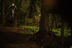 AurélienLardyRoadgapSuicideLesHouches (Thomas Zilberdoukaten) Tags: bike forest mountainbike downhill mtb chamonix vtt forêt thomaszilberdoukaten aurelienlardy