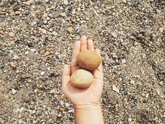 Beach finds (cjazzlee) Tags: beach rocks okanagan shuswap vscocam uploaded:by=flickrmobile flickriosapp:filter=nofilter