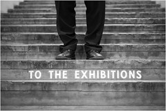 exhibitions (Flaxe) Tags: stairs shoes stockholm frgfabriken liljeholmen totheexhibition