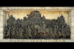 Bronze Panel at Victoria Memorial (Atul Tater) Tags: sculpture india art kolkata victoriamemorial westbengal bronzepanel