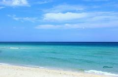 Miami Beach - South Beach (Blanca Rosa2008 +2,700,000 Views Thanks to All) Tags: blue sea sky naturaleza beach nature clouds miami bluesky miamibeach oceanview atlanticocean southbeach blueview skymiami playamiami canoneos60d zstincer seascapemiami