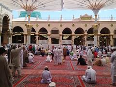 Masjid Nabawi, Madina (portable_soul) Tags: muslim islam pray praying mosque allah moslem shalat musholla baitullah