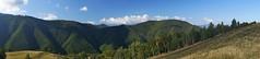 Panoramă spre vârful Păului
