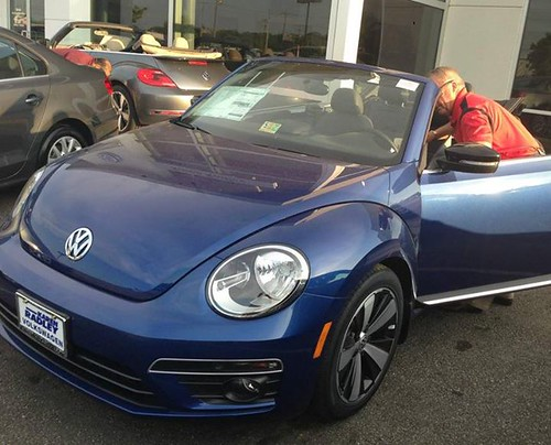Welcome home 'Blue Beetle'