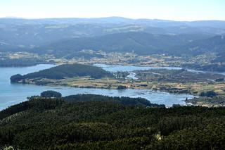 Marismas de la Ría de Ortigueira.