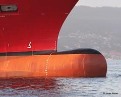 Bulbos de buques (73) (javier_cx9aaw) Tags: de shipyard shipbuilding bulbos proa puertovigo industrianaval astillerosconstrucciones cxaaw