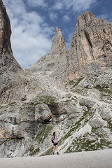 Vajolet towers, Dolomites | Torri del Vajolet, Dolomiti (Bluesilver85) Tags: italy mountain alps trekking italia alpi montagna trentino dolomites dolomiti torri rifugio preuss valdifassa vajolet