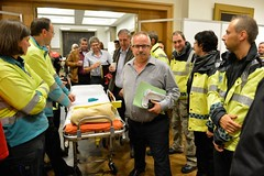 24/10/2013 - Betoging Ambulanciers
