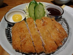 Tonkatsu @Ginpei restaurant, Shanghai (Phreddie) Tags: food dinner japanese restaurant yum shanghai delicious eat hongqiao ginpei 131116