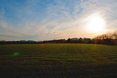 Countryside (Elisa_Ci) Tags: sunset sky nature landscape countryside nikon clounds d90
