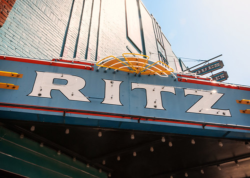 Ritz Theatre (1942), view 04, 126 W Liberty Ave, Covington, TN (1826, pop. 9,063), USA