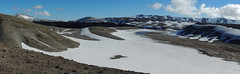 Panorama El Caulle (Mono Andes) Tags: chile lava andes volcn parquenacional chilecentral parquenacionalpuyehue regindelosros volcnpuyehue elcaulle vision:mountain=0575 vision:outdoor=099 vision:car=0521 vision:sky=0778 vision:ocean=0577