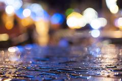 Table Reflections (Jonsel) Tags: xmas reflections cardiff christmaslights