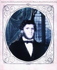 Eugenio Prati Ritratto di Domenico Prati Venezia 1859 di A. Rosa Collezione privata Uruguay