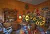 Sun Flower Pottery (Batteman87) Tags: highdynamicrange edgfield edgefieldsc edgefieldsouthcarolina flowerhdr interiorhdr janebesspottery