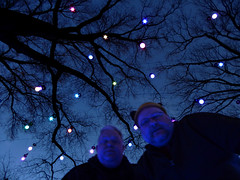 The Trees Are Full Of Stars 3 (wooferSTL) Tags: night lights lightshow botanicalgarden husbands mobot shawsgarden husbears mw2015