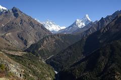 khumbu valley (djsitaun) Tags: travel nepal sky mountain travelling trekking landscape village hiking hills trekkers valley mountaineering himalaya khumbu everest himalayas himalayan amadablam phototravel everestbasecamptrek khumbuvalley everestregion khumbuhimal imjatsevalley