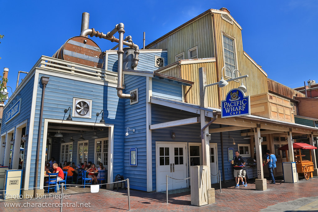 Pacific Wharf Cafe at Disney Character Central