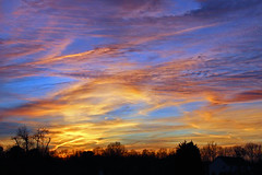 golden sunset (scott1346) Tags: blue light sunset orange colors beautiful yellow gold twilight bright lavender 1001nights simplysuperb 1001nightsmagiccity ringexcellence flickrstruereflection1