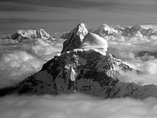 Himalaya , above the clouds
