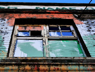 A Window in Hackney Wick