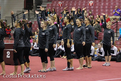 1st Place Team - TWU Pioneers (Erin Costa) Tags: ladies college tx kitty arena gymnast gymnastics lions tumble denton twu magee centenary lindenwood